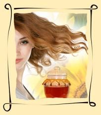 Мед для здоровья волос
